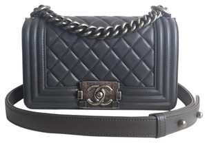 Chanel Lambskin Boy Classic Cross Body Bag