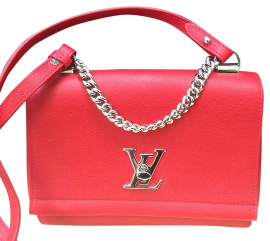 Preload https://img-static.tradesy.com/item/17628400/louis-vuitton-red-lockme-bb-leather-cross-body-bag-0-1-540-540.jpg