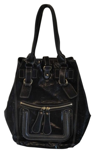 Preload https://item1.tradesy.com/images/chloe-large-granite-patent-leather-shoulder-bag-176285-0-0.jpg?width=440&height=440