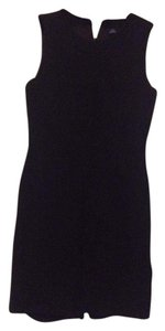 Ann Taylor Wool Curvy Boucle Fitted Dress