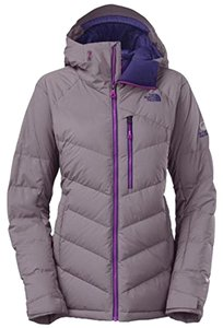 The North Face Lavish Polyester Shell Prodown Insualtion Water-resistant Multiple Coastal Grey Jacket