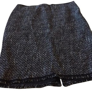 Elie Tahari Skirt Black, lavender threads