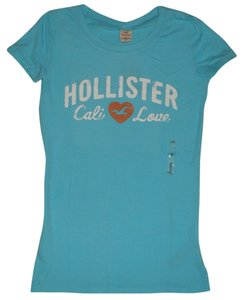 Hollister T Shirt Light Aqua Blue