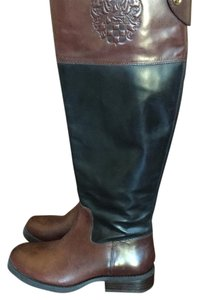 Vince Camuto Black/brown boots Boots