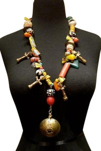 Other Antique Afghani Tribal Wedding Necklace - One of a Kind