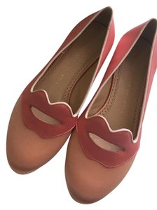 Charlotte Olympia Rose/Melon Flats