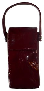 Poppie Jones POPPIE Red Patent Leather Wristlet