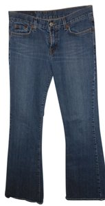 Lucky Brand Denim Dark Rinse Boot Cut Jeans-Dark Rinse