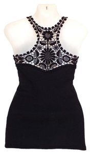 Other Crochet Summer Top black