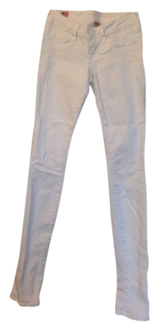 Item - White Light Wash Skinny Jeans Size 25 (2, XS)