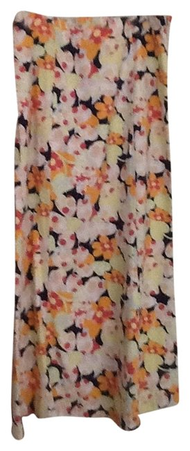 Talbots Maxi Skirt Multi-colored