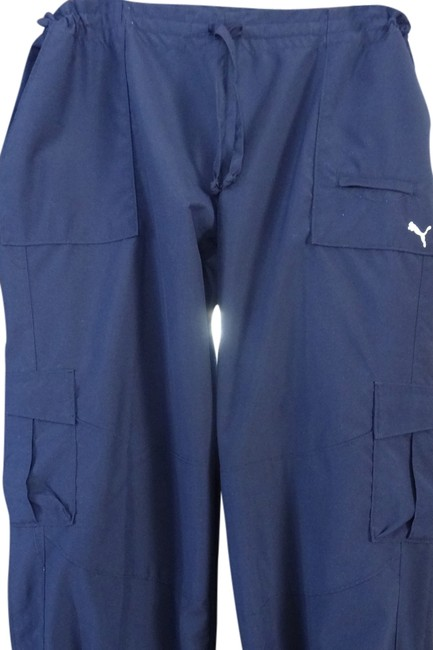 Price Reduction! Puma Draw String Pockets Athletic Pants Navy