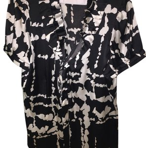 BCBGMAXAZRIA Top Black/White