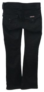 Hudson Jeans Buttons 25 Boot Cut Pants Black