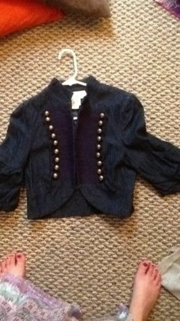BB Dakota Wint Winter Classic Preppy Spring Fall Geniune Crop Top Fitted Jacket
