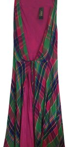 Pink & Green Maxi Dress by Polo Ralph Lauren