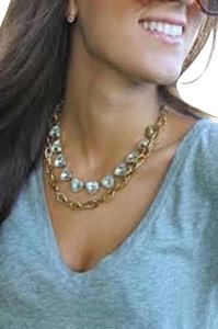 Stella & Dot Christina Link Necklace