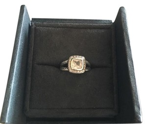 David Yurman David yurman white topaz ring