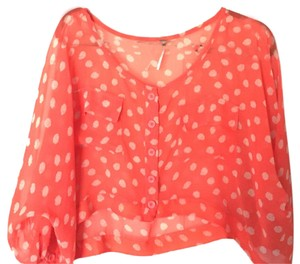 Free People Top Tangerine