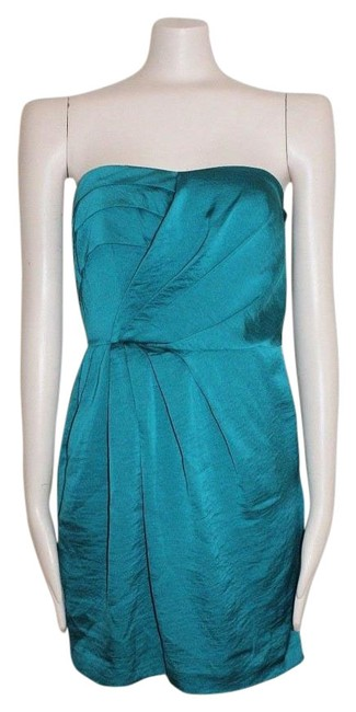 BCBGeneration Draped Strapless Dress
