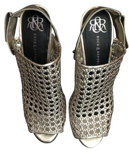 Rock & Republic Silver Wedges