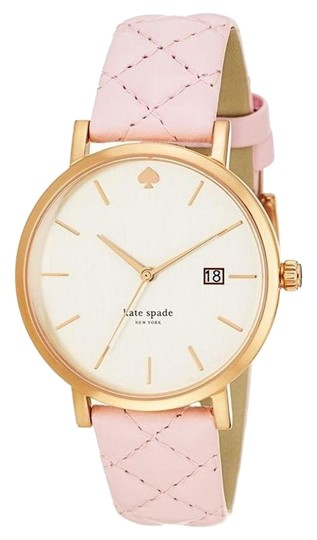 Preload https://img-static.tradesy.com/item/17632591/kate-spade-pink-new-york-metro-grand-quilted-strap-watch-0-4-540-540.jpg