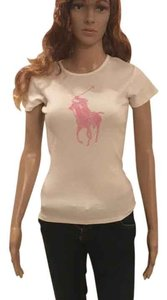 Ralph Lauren Collection T Shirt white with pink