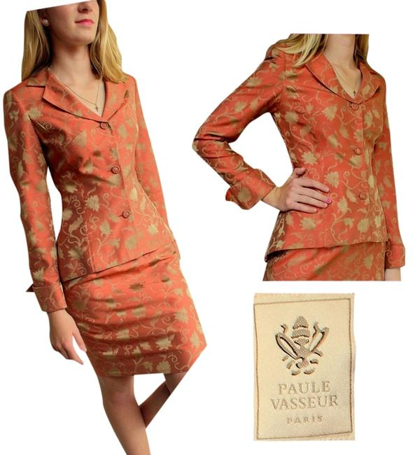 Item - XS A Steal New France Royal-tapestry Jacket Skirt Suit Size 2 (XS)