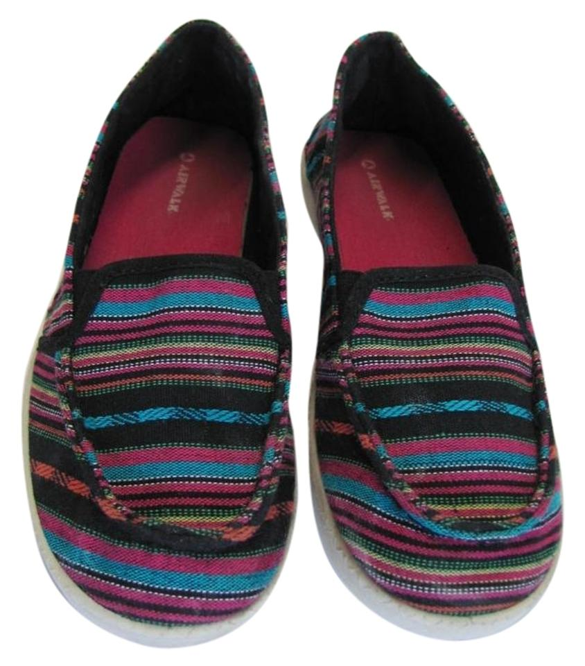8dc34628c Airwalk Black Turquoise Pink M Good Condition Flats Size US 7 ...