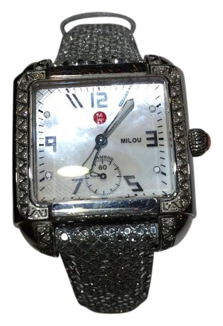 Item - Stainless Steel and Diamonds Deco Watch