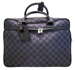 Louis Vuitton Carry-on Laptop Business Briefcase Luggage L.v. Canvas Damier Graphite (Authenticity Guaranteed) Travel Bag