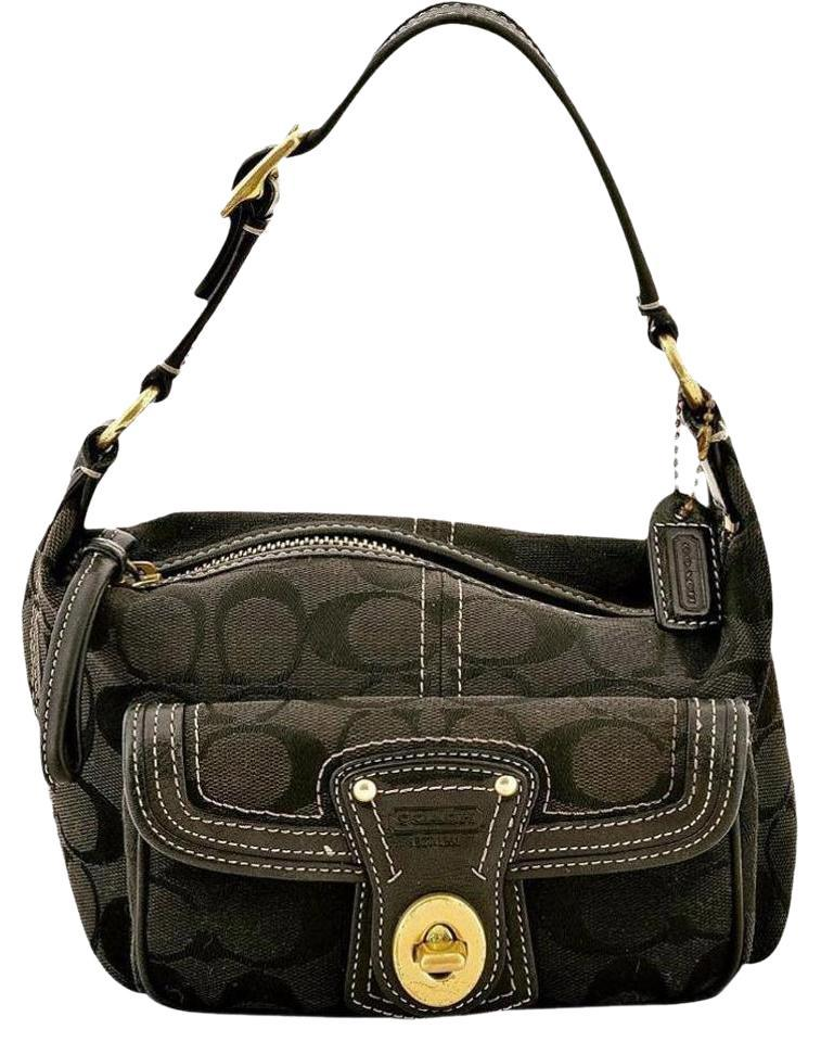 ebay coach legacy in signature studded small black satchels 87444 800d7 baf9289b84a66