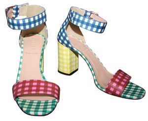J.Crew Gingham Multi Pumps