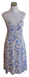 Diane von Furstenberg short dress White Dvf Slip Silk on Tradesy