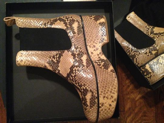 Dries van Noten Python New In Box Boots
