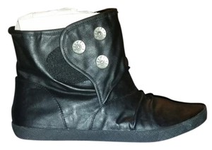 Blowfish Malibu Hinton Buttons Sale Black Strike Boots