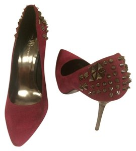 Rock & Republic Studded Pink Fuchsia Pumps