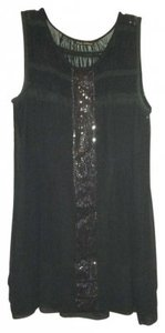 Mieko Mellucci Lace Trim Sleeveless Sparkle Gatsby Night Out Date Night Lbd Little Dress