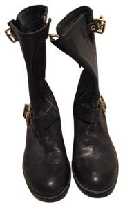 Vince Camuto Black with gold hardware Boots