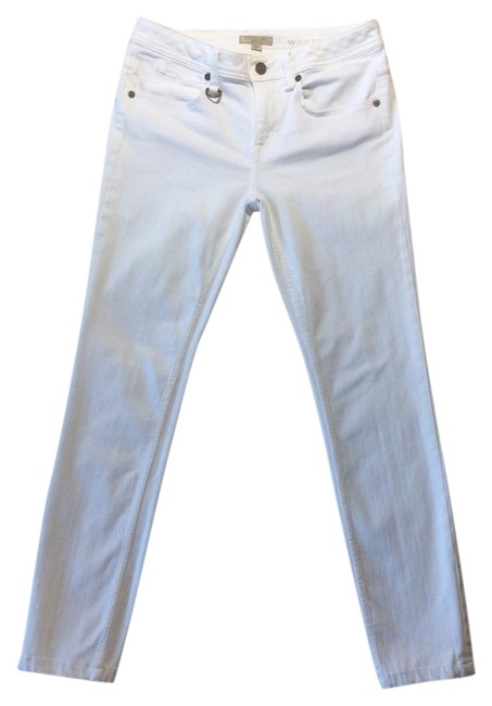 Item - White Westbourne Seamed Skinny Jeans Size 27 (4, S)