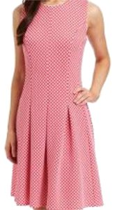 Other short dress Fuschia White on Tradesy