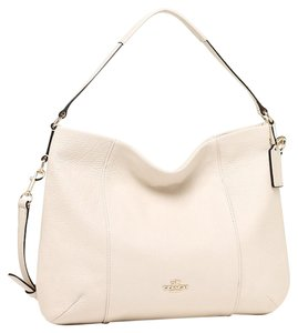 Coach F35809 Isabelle Women's Purse Leather Hobo Bag