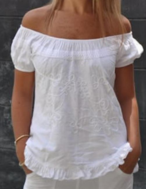 Lirome Embroidered Casual Summer Chic Tunic Image 3
