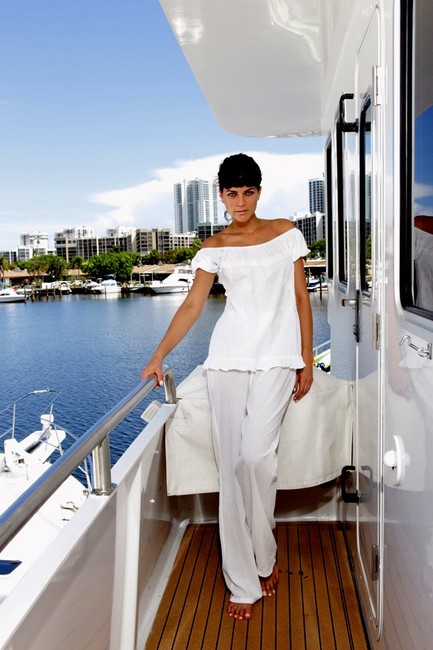 Lirome Embroidered Casual Summer Chic Tunic Image 6