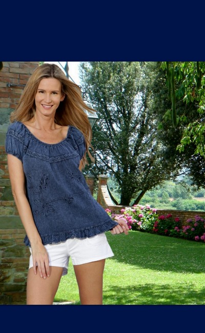 Lirome Embroidered Casual Summer Chic Tunic Image 7