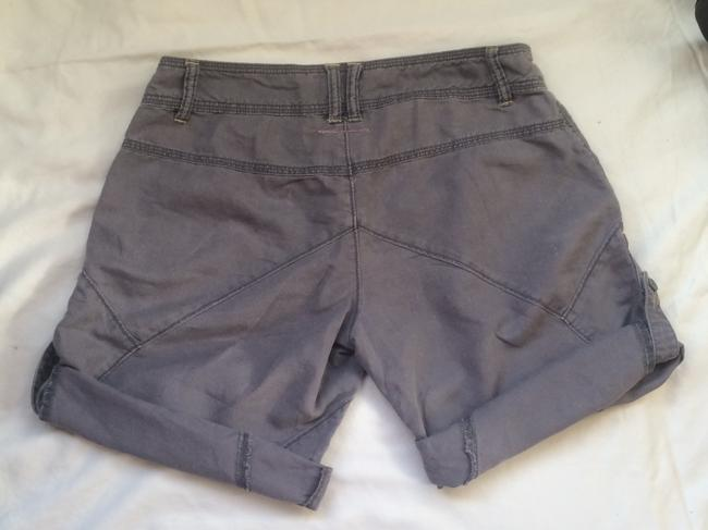 Free People Shorts Dark Gray with Tan trim