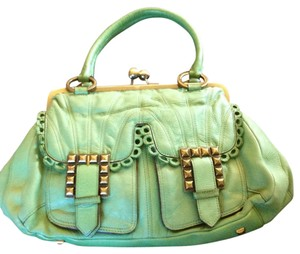 Betsey Johnson Satchel in Mint Green
