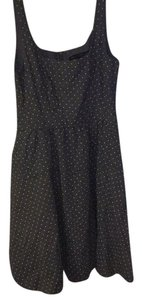 Marc by Marc Jacobs short dress Chambray blue with green polka dots on Tradesy
