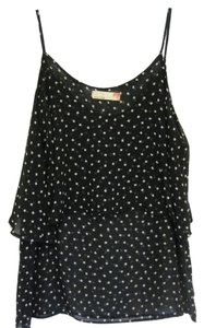 Sweet Claire Top Black & White