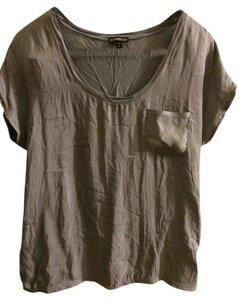 Express T Shirt gray
